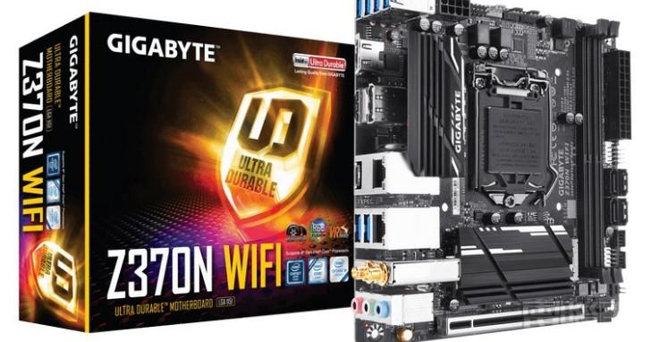 整合 HDMI 2.0 與 Intel 2+1 網路介面,GIGABYTE 推出 Z370N WIFI 主機板