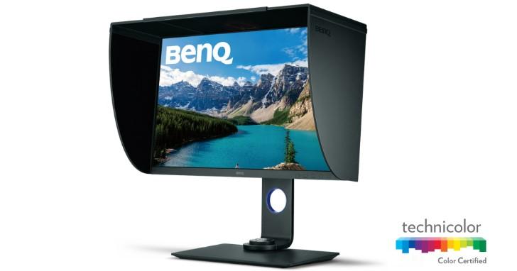 BenQ 發表專業導向 27 吋 SW271 螢幕,支援 HDR 和 DCI-P3 色域