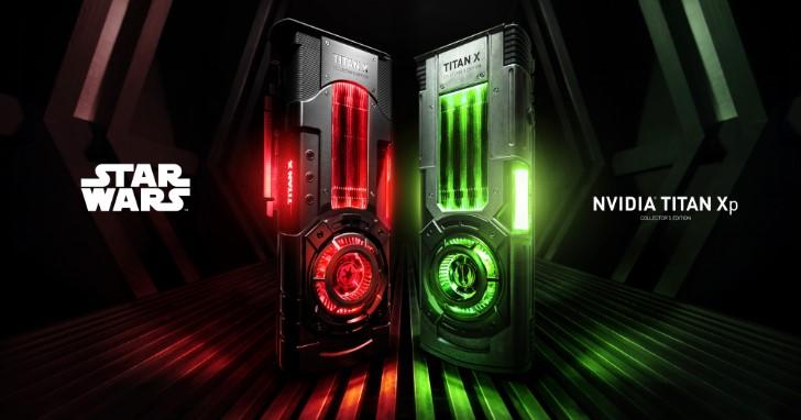 原來是星際大戰啊!NVIDIA TITAN Xp Collector's Edition 讓你選擇投靠銀河帝國或是絕地組織。