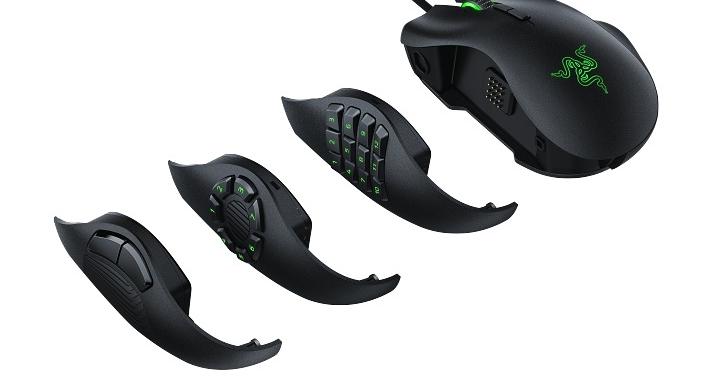 Razer 推出可更換側板的 Naga Trinity 遊戲鼠與 Tartarus V2 小鍵盤