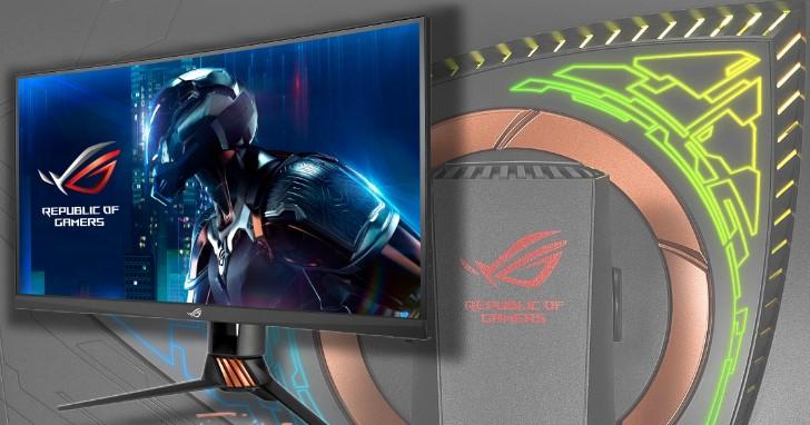 全球最快曲面電競螢幕來了,Asus ROG Swift PG27VQ 更新率可達 165Hz