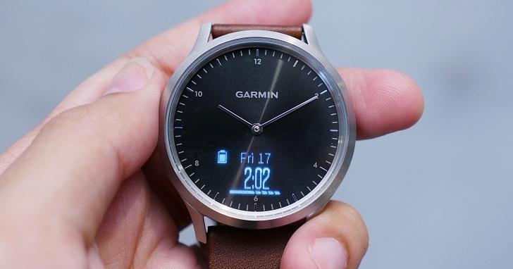 結合機械指針、智慧功能與心率偵測,Garmin 推出更具質感的 Vivomove HR 智慧指針錶