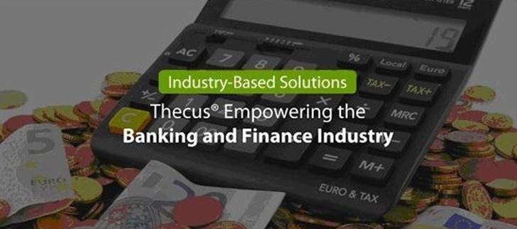 金融應用解決方案: Thecus 提供金融機構完善的儲存解決 方案
