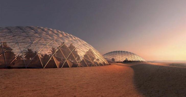 「在沙漠起大厝」杜拜將在高溫 40℃ 的沙漠中,蓋一座模擬火星環境的科學城