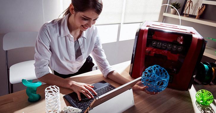 三緯國際資訊月4大新品首賣,用3D自造你的耶誕禮物