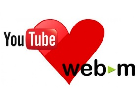 以後上傳 YouTube 影片都會有 WebM 版本