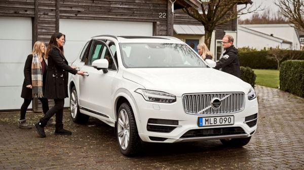 Volvo 將在瑞典提供一百輛自動駕駛車給一百組家庭上路實測,但車內外的一舉一動都會被監控