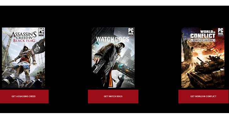 育碧聖誕節前大放送,《看門狗》《刺客教條4:黑旗》《衝突世界》三款遊戲一次送完