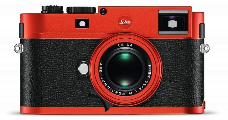 拍照也有三倍速?徠卡推出全球限量一百台的 Leica M(Typ262)紅色特別版