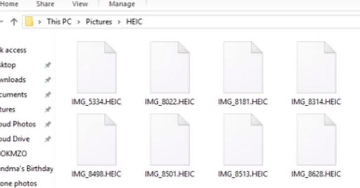 如何在Windows 10上直接用原生介面開啟以及瀏覽iOS 11的 HEIC 格式照片?