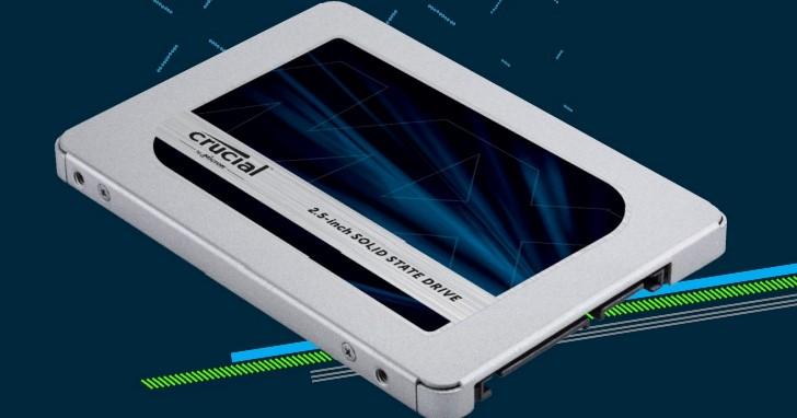 採用自家 64 層 3D TLC 的 Crucial MX500 開始出貨,1TB 版本要價美金 259.99 元