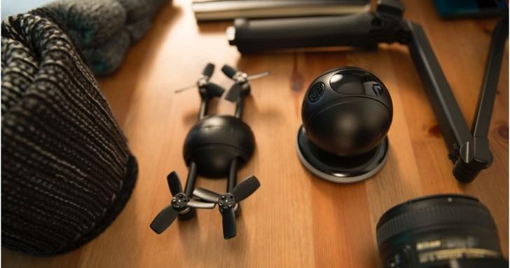 這個能變形的球,既是無人機也是運動相機