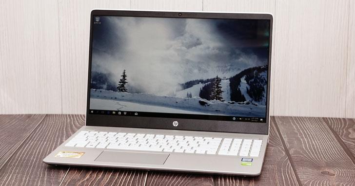 滿足工作與娛樂需求!外觀設計高顏值的全功能筆電「HP Pavilion 15-ck022TX」開箱與深度評測!