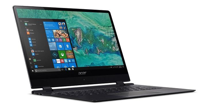 Acer 首款常時連網電腦 Swift 7 發表,同場加映新二合一筆電 Spin 3、AMD 平台 Nitro 5 電競筆電