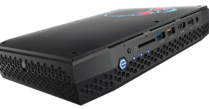 搭配 AMD Radeon RX Vega M 的超強悍 Intel NUC 即將登場!