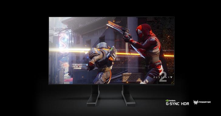 宏碁65吋Predator大型遊戲顯示器首度亮相,4K HDR顯示器、內建NVIDIA SHIELD串流播放功能