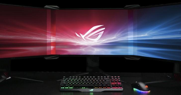 發揮巧思利用光線折射消弭螢幕邊框,Asus ROG 推出無邊框套件