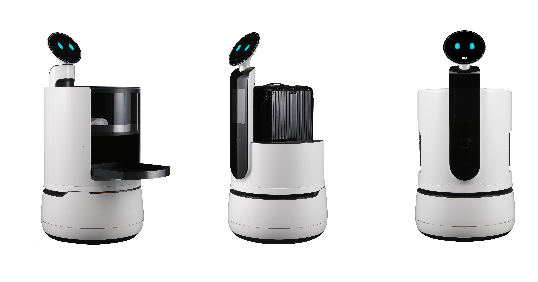 可愛的機器人大軍來了!LG 推出 CLOi 機器人品牌,發表送餐機器人、運行李機器人、購物車機器人