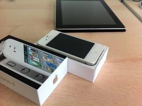 白色 iPhone 4 歐洲開賣