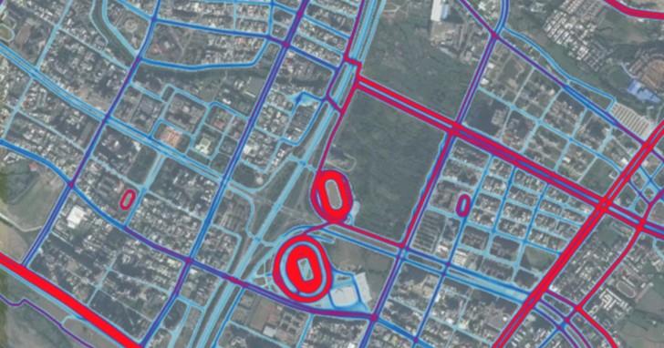 運動手環成洩密利器!利用GPS軌跡驗證台灣軍方營區夠保密嗎?