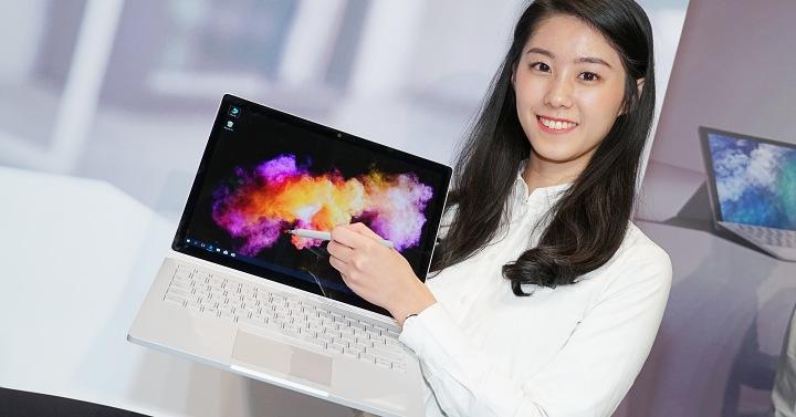 微軟 Surface 全系列登台,Surface Book 2 首發、Surface Studio 於 3 月上市