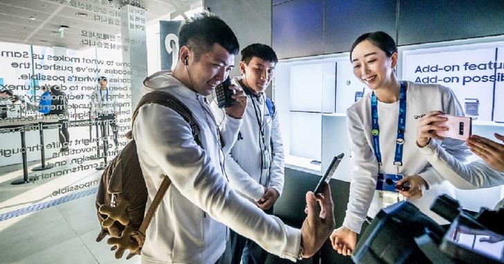 平昌冬奧三星科技概念館啟動,帶給全球奧運迷科技新體驗