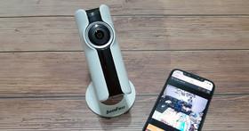 絕對高 CP 值!180 度魚眼鏡頭視野超廣闊:SecuFirst V101 超廣角 FHD 無線網路攝影機產品開箱與使用心得分享!