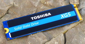 發揮自家優秀顆粒潛能,Toshiba XG5 1TB M.2 NVMe SSD 讀寫飆速