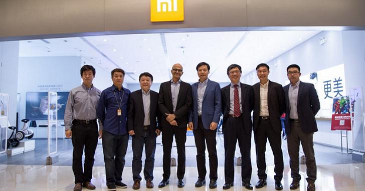 微軟與小米宣佈戰略合作,在雲端運算、人工智慧、硬體領域深入合作