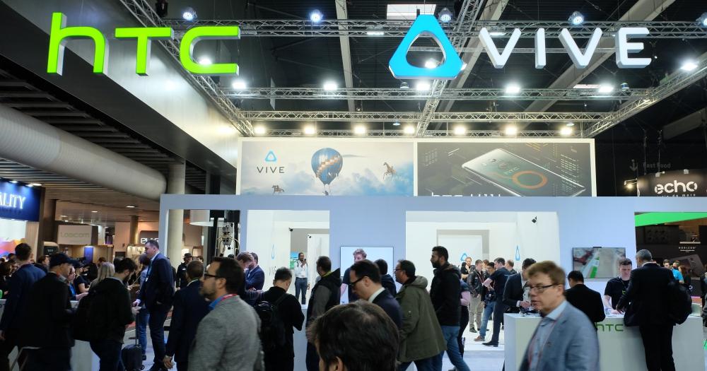 HTC 在 MWC 持續推廣 HTC VIVE,HTC U11 全家族也現身會場