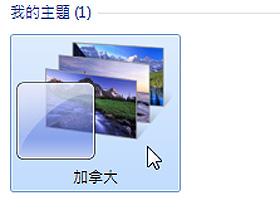 開啟Windows 7中被隱藏的各國佈景主題