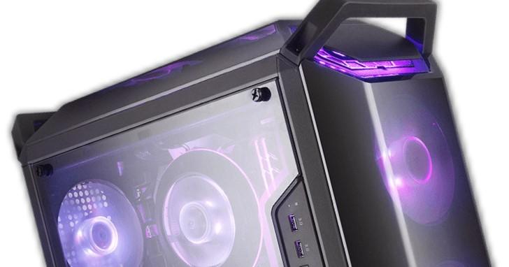 Cooler Master 推出 Q300 系列 MicroATX 小塔機殼,靈活前置 I/O 擺放位置
