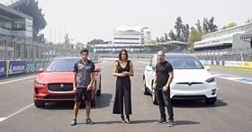 擺明就是「針對你」,Jaguar 釋出 I-Pace 與 Tesla Model X「直線加速」對決影片!