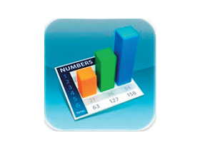 iPad試算表軟體:Numbers