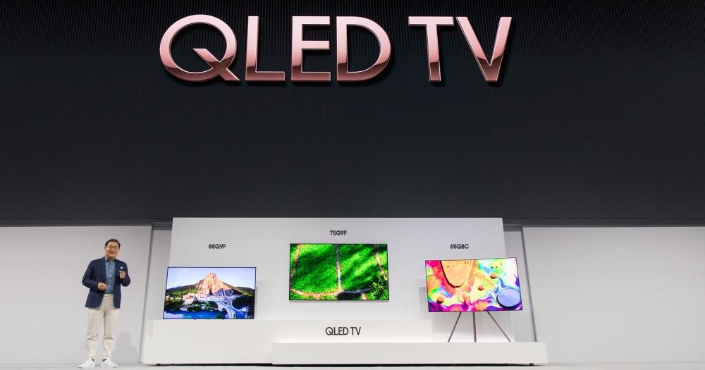 三星發表 QLed 旗艦電視,整合生活資訊、減少線材繁雜設計