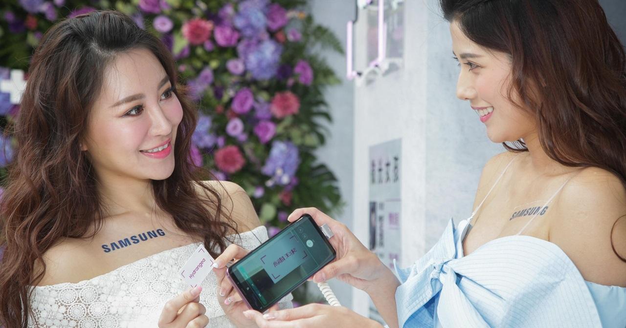 期間限定網美打卡點!三星打造 Galaxy S9 女孩體驗區