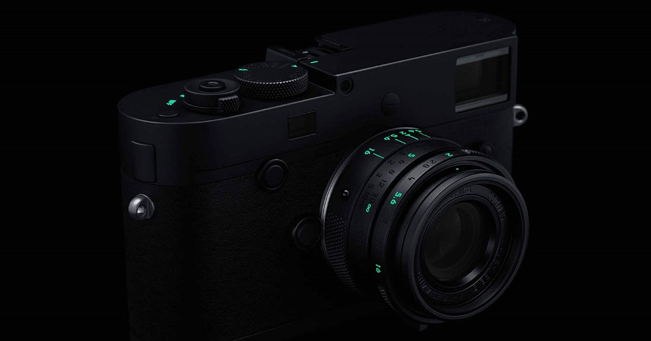 相機也有電競風?不,這是徠卡推出的全球限量「潛行版」M Monochrom(Typ 246)