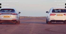 誰才是「最速」旅行車?Porsche Panamera Turbo Sport Turismo vs Mercedes-AMGE63 S Estate「同場競技」影片曝光!