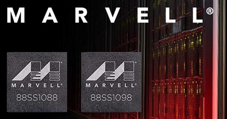 Marvell 新款 SSD 控制器加入戰局,88SS1088 與 88SS1098 搭載四核心處理器