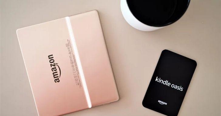 香檳金版 Kindle Oasis 開箱:為非黑即白的文字世界添些色彩