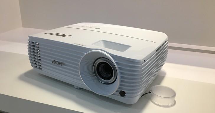 宏碁積極布局4K投影機市場,推出4萬以下新產品