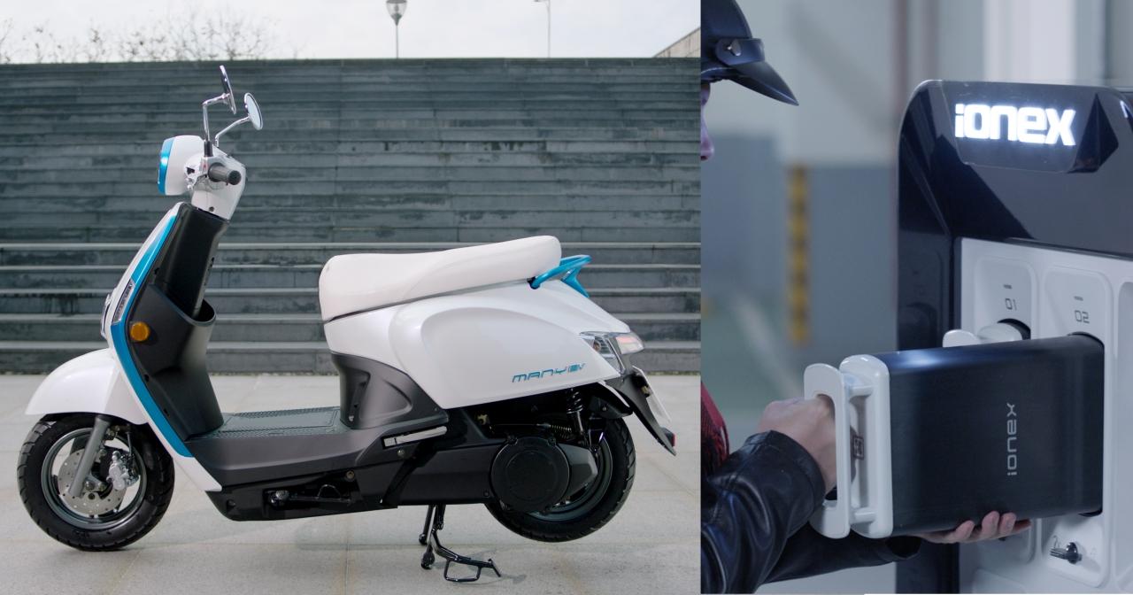 Kymco 光陽 IONEX 電動車技術詳解:充換電並行、沒電還是可以騎是怎麼做到的?