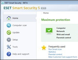 慢工出細活,ESET Smart Security 5 Beta搶先玩