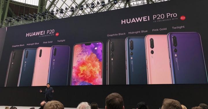 Huawei P20 / P20 Pro 新機來了!超強大三鏡頭,可支援 4 秒手持夜拍