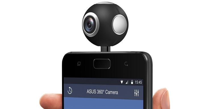 Asus 360 Camera 為手機擴充 360 全景拍攝功能