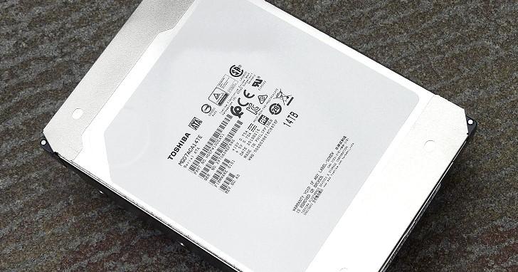 穩定寫入效能!傳統 CMR 紀錄 Toshiba MG07ACA 14TB 3.5 吋填氦硬碟實測