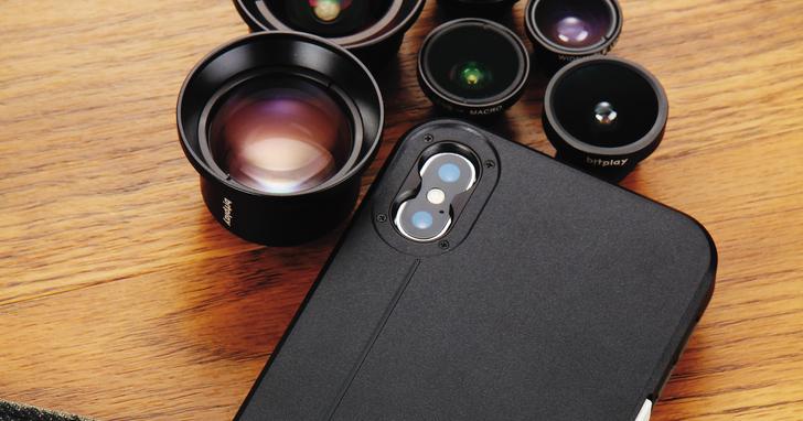 bitplay SNAP !X手機殼加HD高階鏡頭系列- 專為iPhone X拍照而生