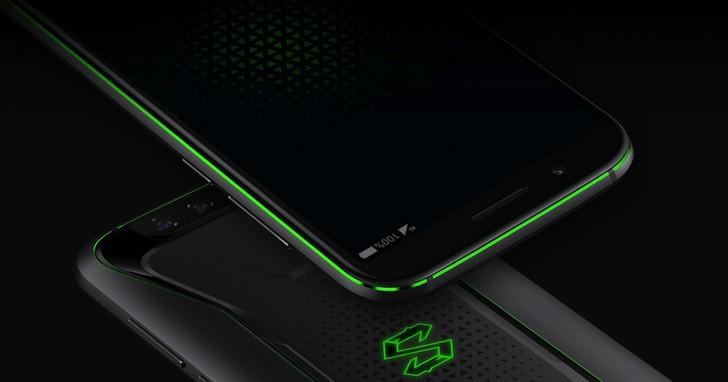 黑鯊遊戲手機發佈:驍龍 845,有獨顯和液冷,價格約台幣14,000 元