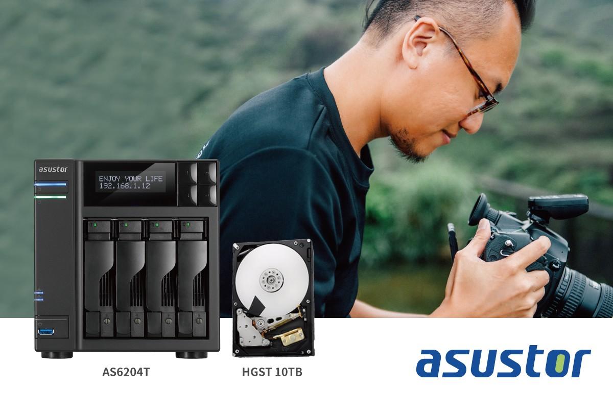 華芸科技攜手 HGST  成功協助攝影師解決海量儲存備份需求