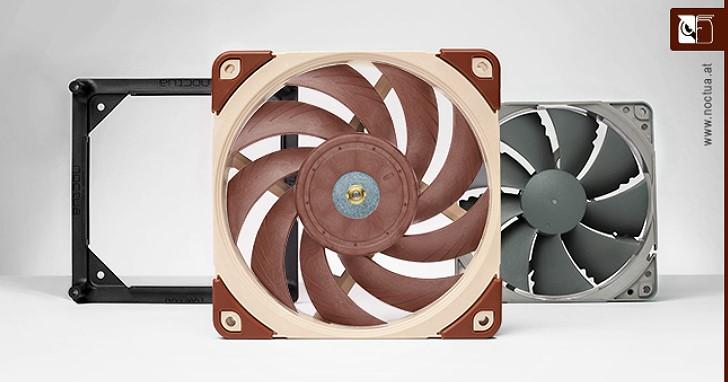 靜壓與風量兼顧,Noctua 新款 A 系列 NF-A12x25 120mm 風扇終於上市